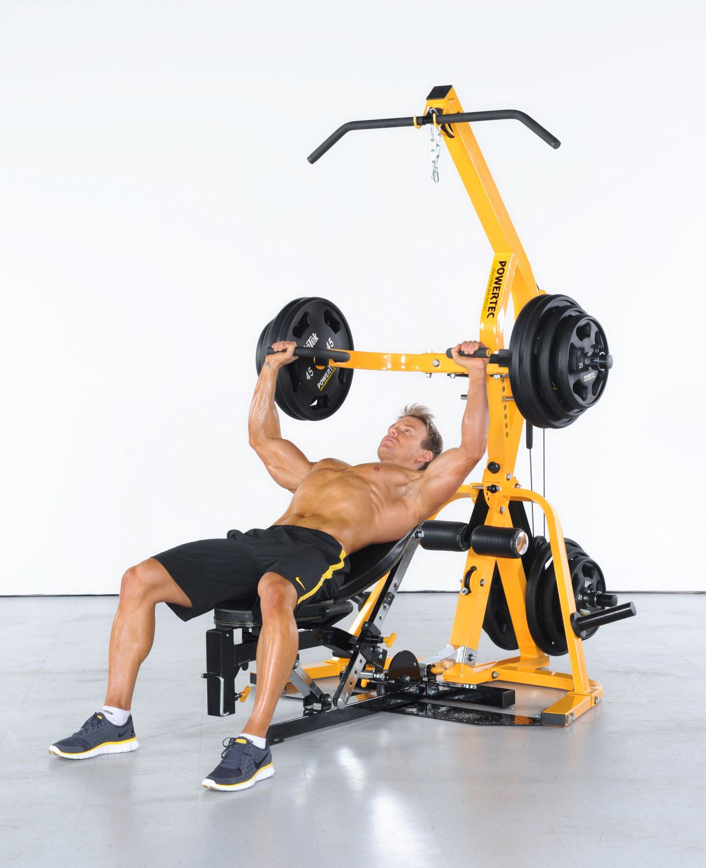 The Total Gym The Total Gym is designed to help you tone, sculpt, and strengthen your entire body without requiring the bulk and expense of a complete home gym.