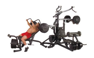 Body-Solid SBL460P4 Freeweight Leverage Gym Review