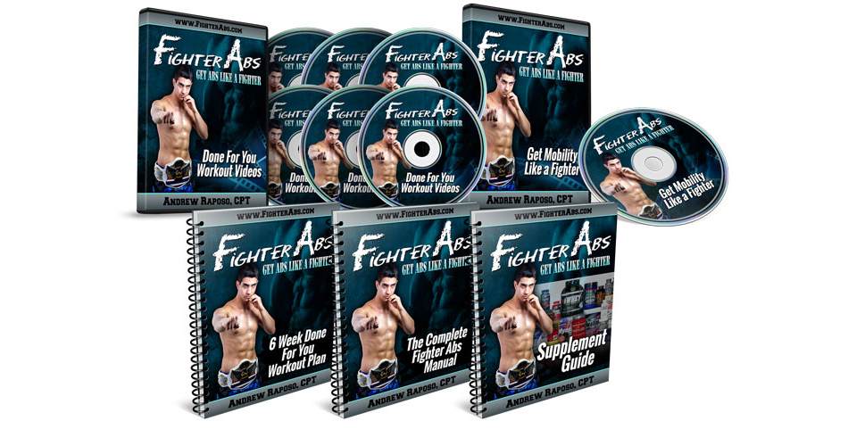 Andres Raposo's – 4 Minute Fighter Abs [Review]