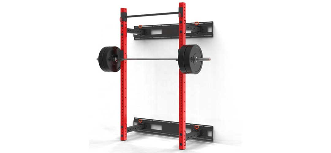 Squat Racks That Fold Against the Wall